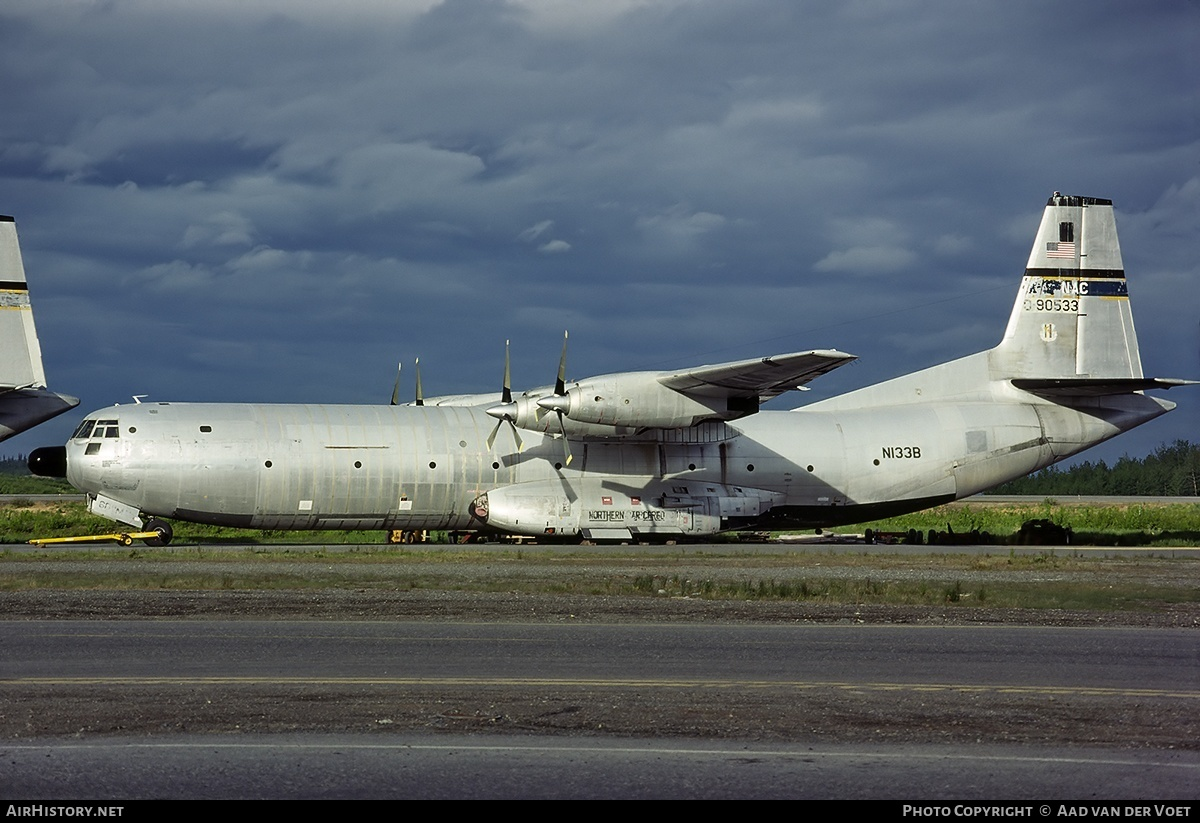 Aircraft Photo of N133B / 0-90533 | Douglas C-133B Cargomaster | Northern Air Cargo - NAC | AirHistory.net