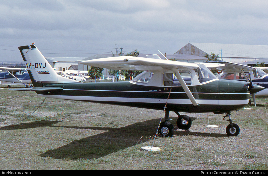 Aircraft Photo of VH-DVJ | Cessna 150H | AirHistory.net