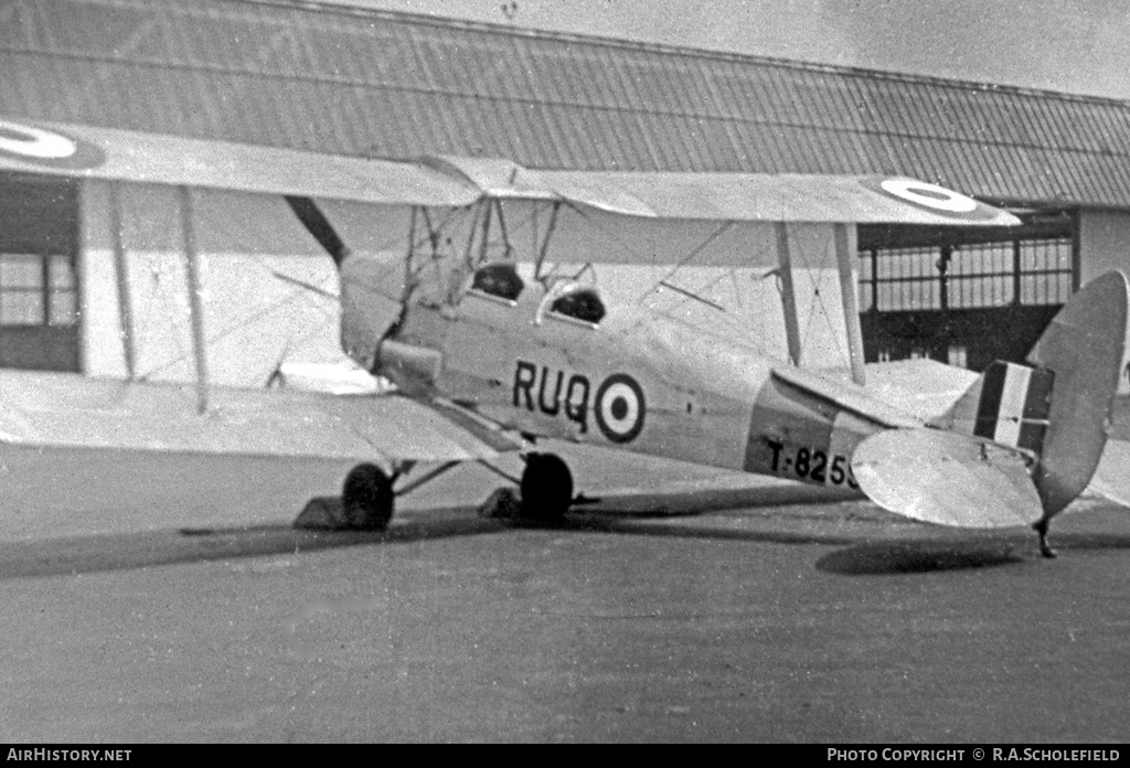 Aircraft Photo of T8259 | De Havilland D.H. 82A Tiger Moth II | UK - Air Force | AirHistory.net #7629