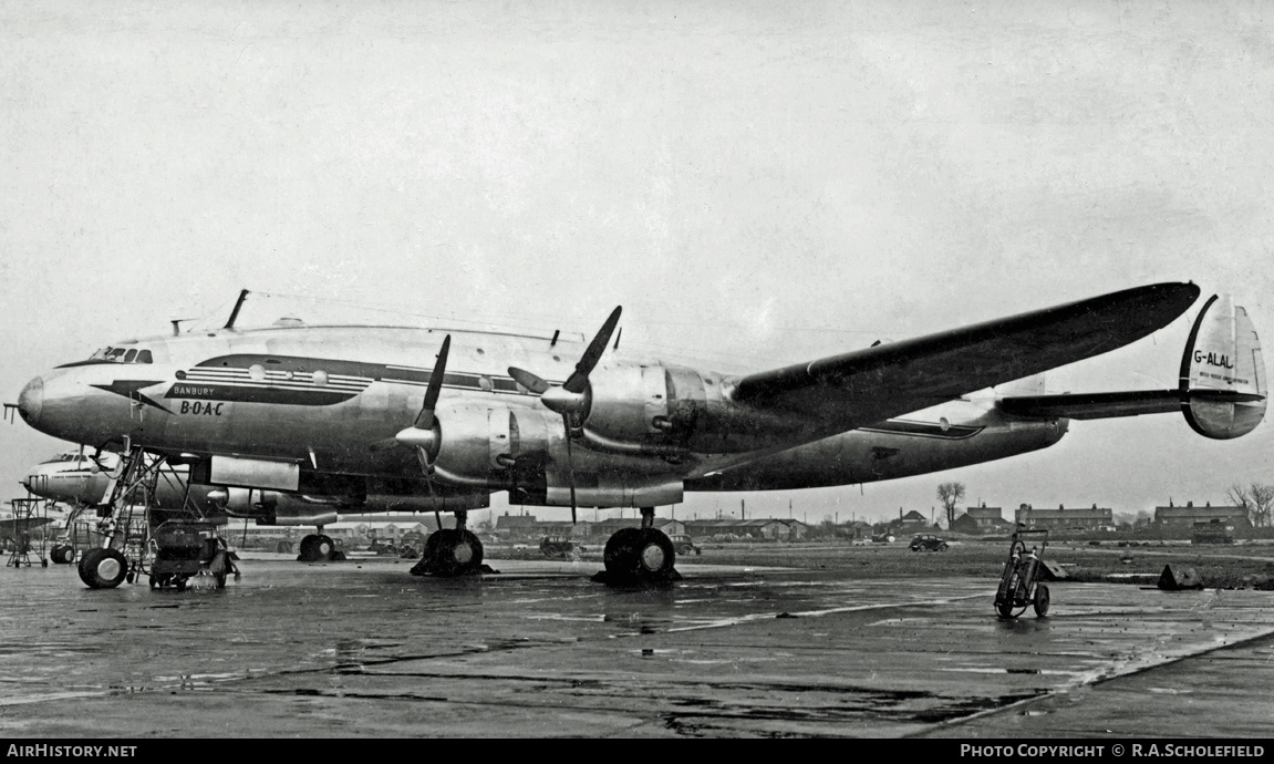 Aircraft Photo of G-ALAL | Lockheed L-749A Constellation | BOAC | AirHistory.net