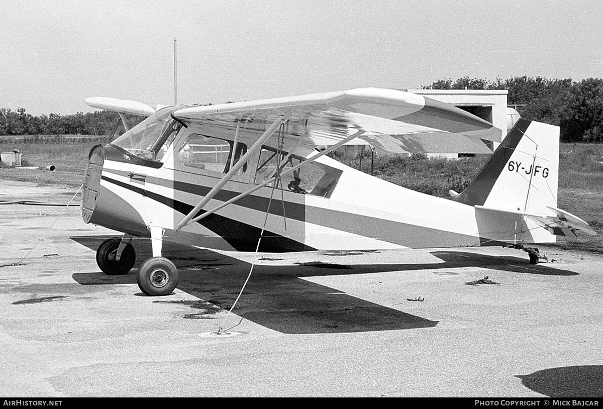 Aircraft Photo of 6Y-JFG | Champion 7KCAB Citabria | AirHistory.net