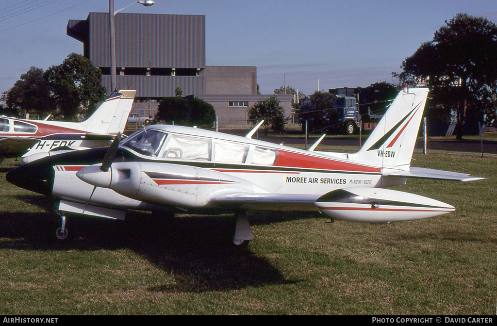 Aircraft Photo of VH-EDW | Piper PA-30-160 Twin Comanche B | Moree Air Services | AirHistory.net #7743