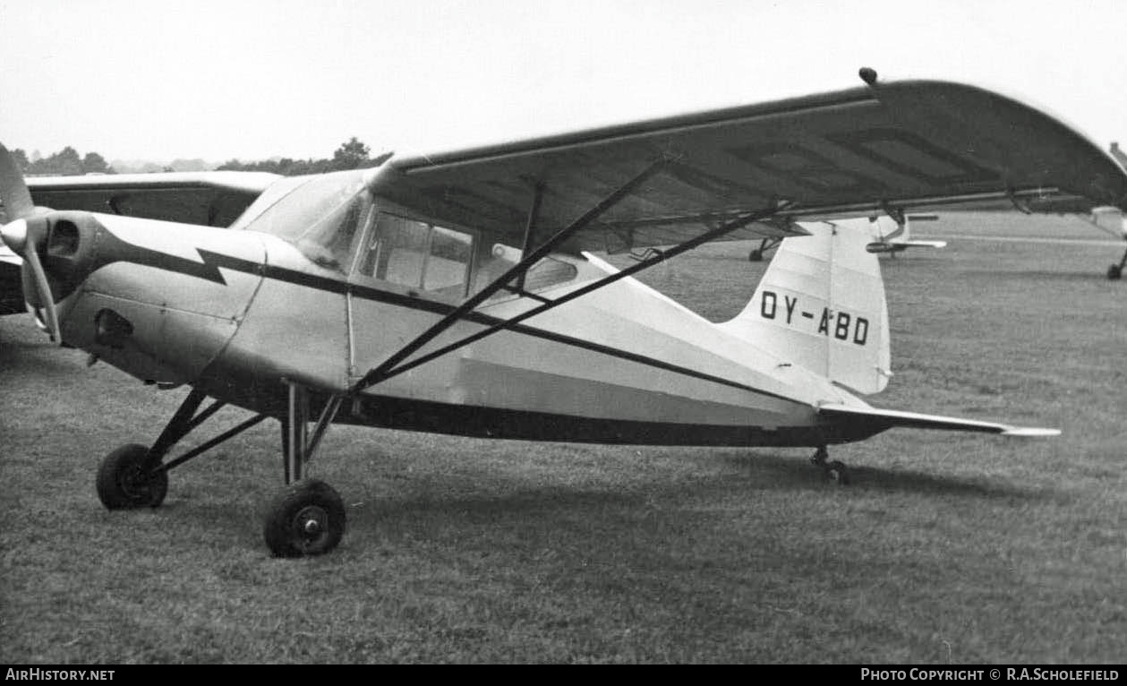 Aircraft Photo of OY-ABD | SAI KZVII Lark | AirHistory.net #7789
