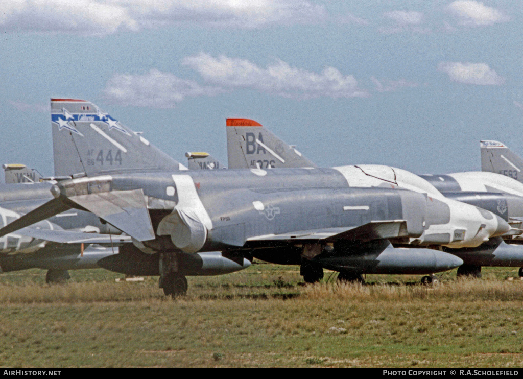 Aircraft Photo of 66-0444 / AF66-444 | McDonnell Douglas RF-4C Phantom II | USA - Air Force | AirHistory.net #7876