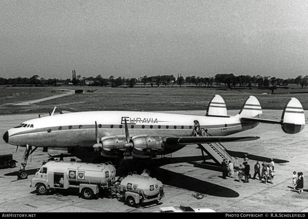 Aircraft Photo of G-ARVP | Lockheed L-049D Constellation | Euravia | AirHistory.net #7916