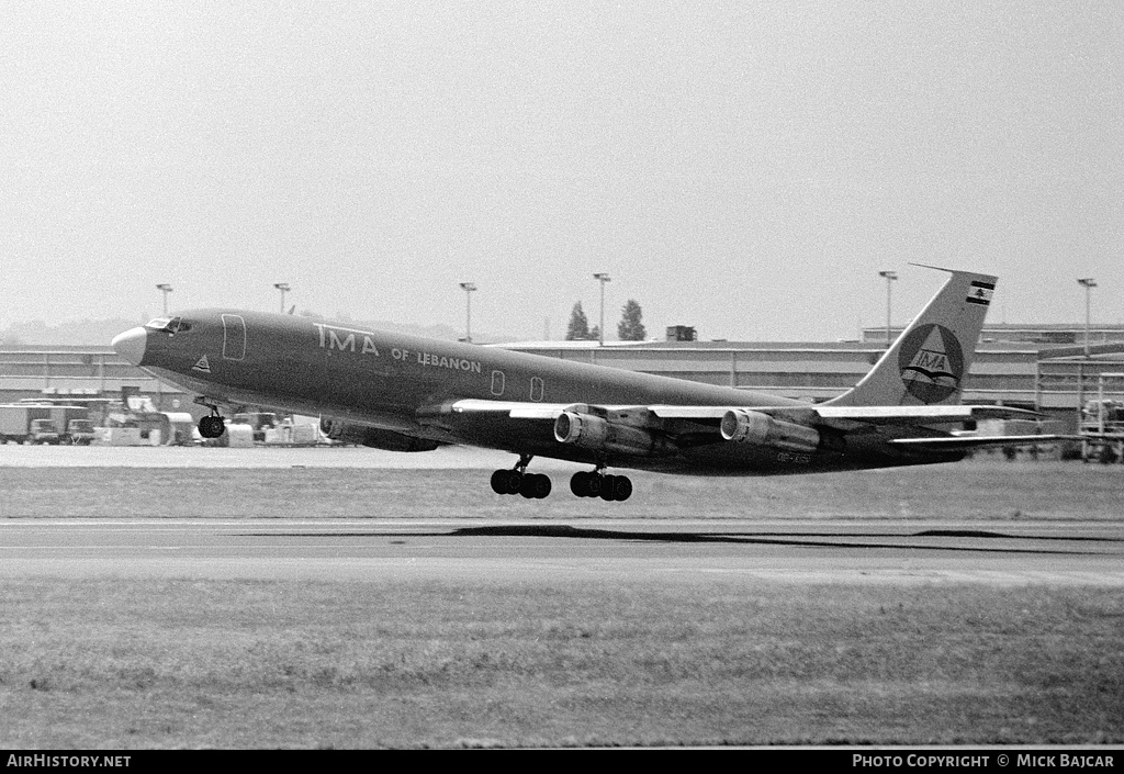 Aircraft Photo of OD-AGN | Boeing 707-323C | TMA of Lebanon - Trans Mediterranean Airways | AirHistory.net #7940