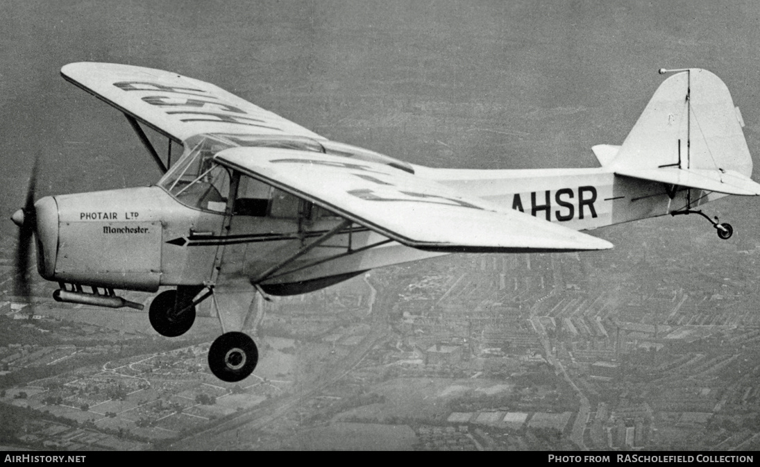 Aircraft Photo of G-AHSR | Auster J-1 Autocrat | Photair | AirHistory.net #7984