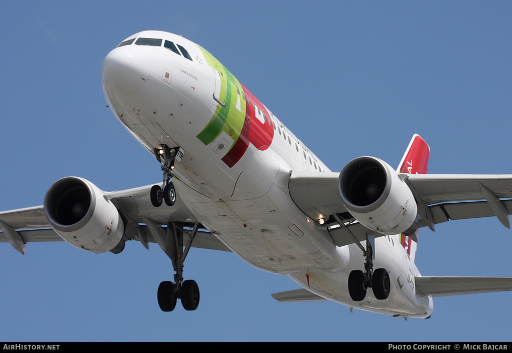 Aircraft Photo of CS-TTR | Airbus A319-111 | TAP Portugal | AirHistory.net #8002