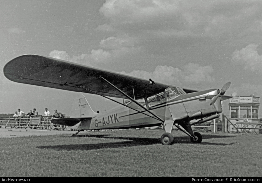 Aircraft Photo of G-AJYK | Auster J-5B Autocar | Airviews | AirHistory.net