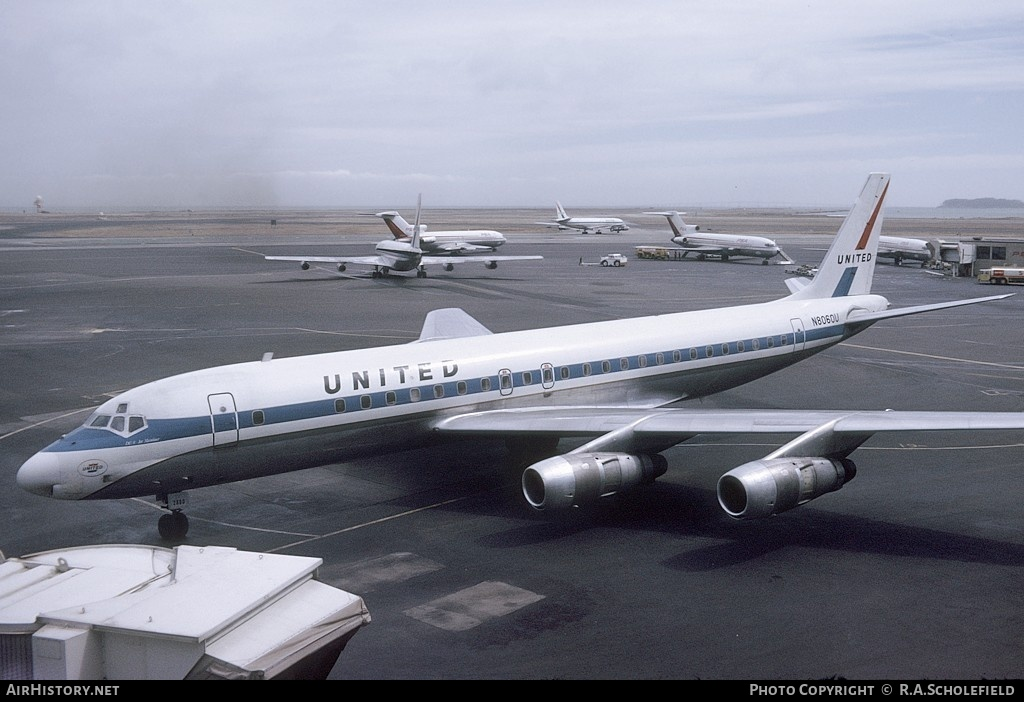 Aircraft Photo of N8060U | Douglas DC-8-52 | United Airlines | AirHistory.net