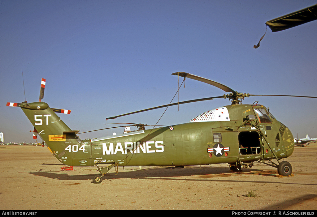 Aircraft Photo of 150562 | Sikorsky UH-34D Seahorse | USA - Marines | AirHistory.net #8229