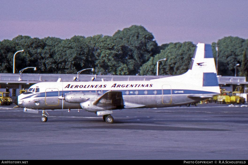 Aircraft Photo of LV-HHE | Avro 748 Srs1/105 | Aerolíneas Argentinas | AirHistory.net