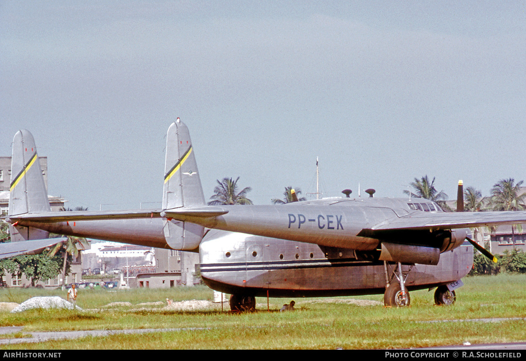 Aircraft Photo of PP-CEK | Fairchild C-82A Packet | Cruzeiro do Sul | AirHistory.net