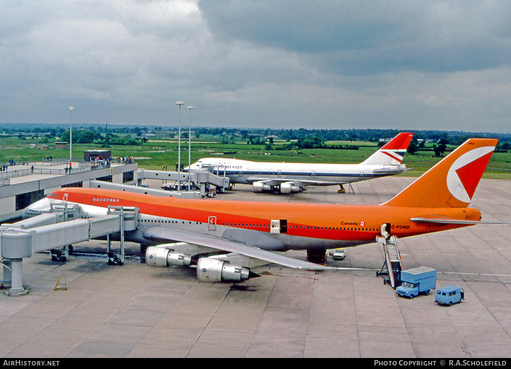 Aircraft Photo of C-FCRD | Boeing 747-217B | CP Air | AirHistory.net