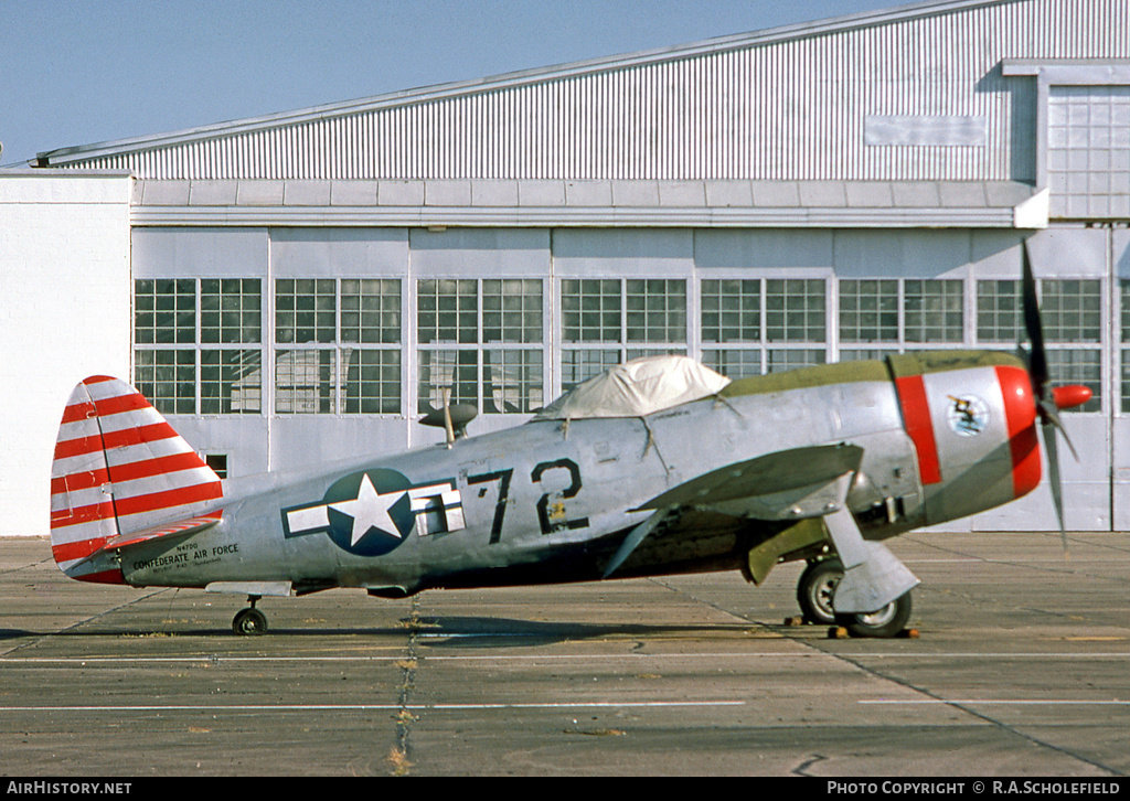 Aircraft Photo of N47DD | Republic P-47D Thunderbolt | Confederate Air Force | USA - Air Force | AirHistory.net