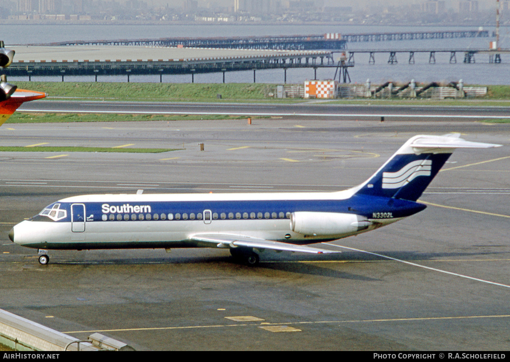 Aircraft Photo of N3302L | Douglas DC-9-14 | Southern Airways | AirHistory.net