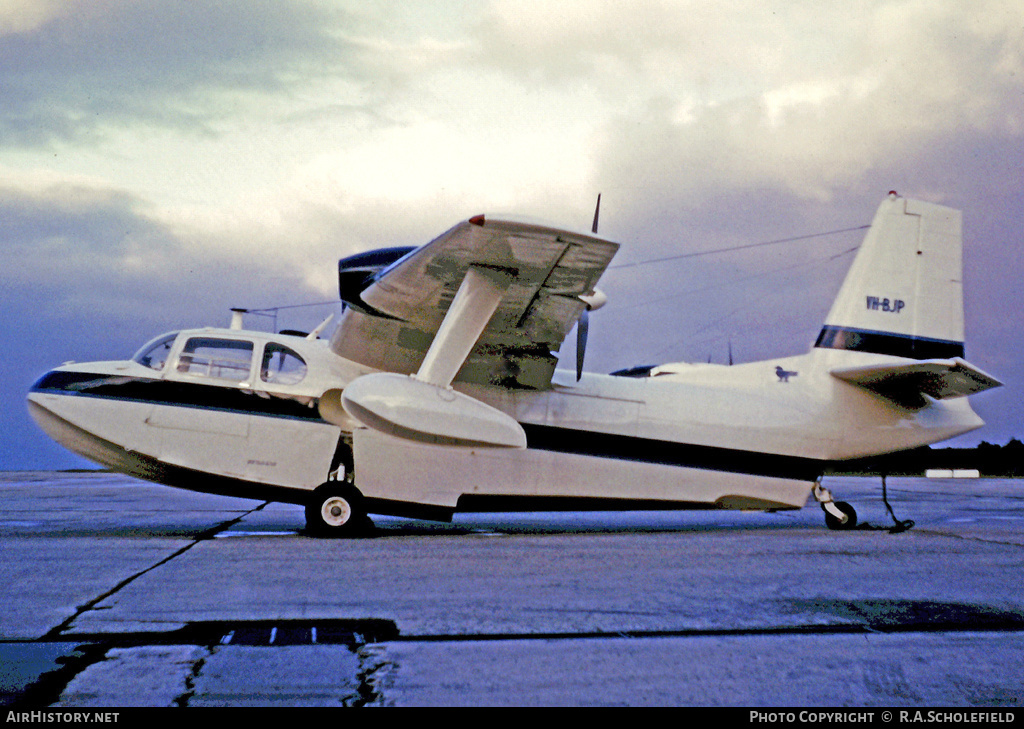 Aircraft Photo of VH-BJP | Piaggio P-136L | AirHistory.net #8406