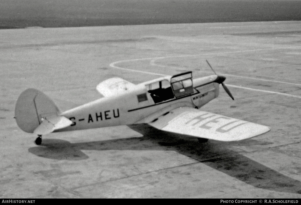 Aircraft Photo of G-AHEU | Percival P-28 Proctor 1 | AirHistory.net