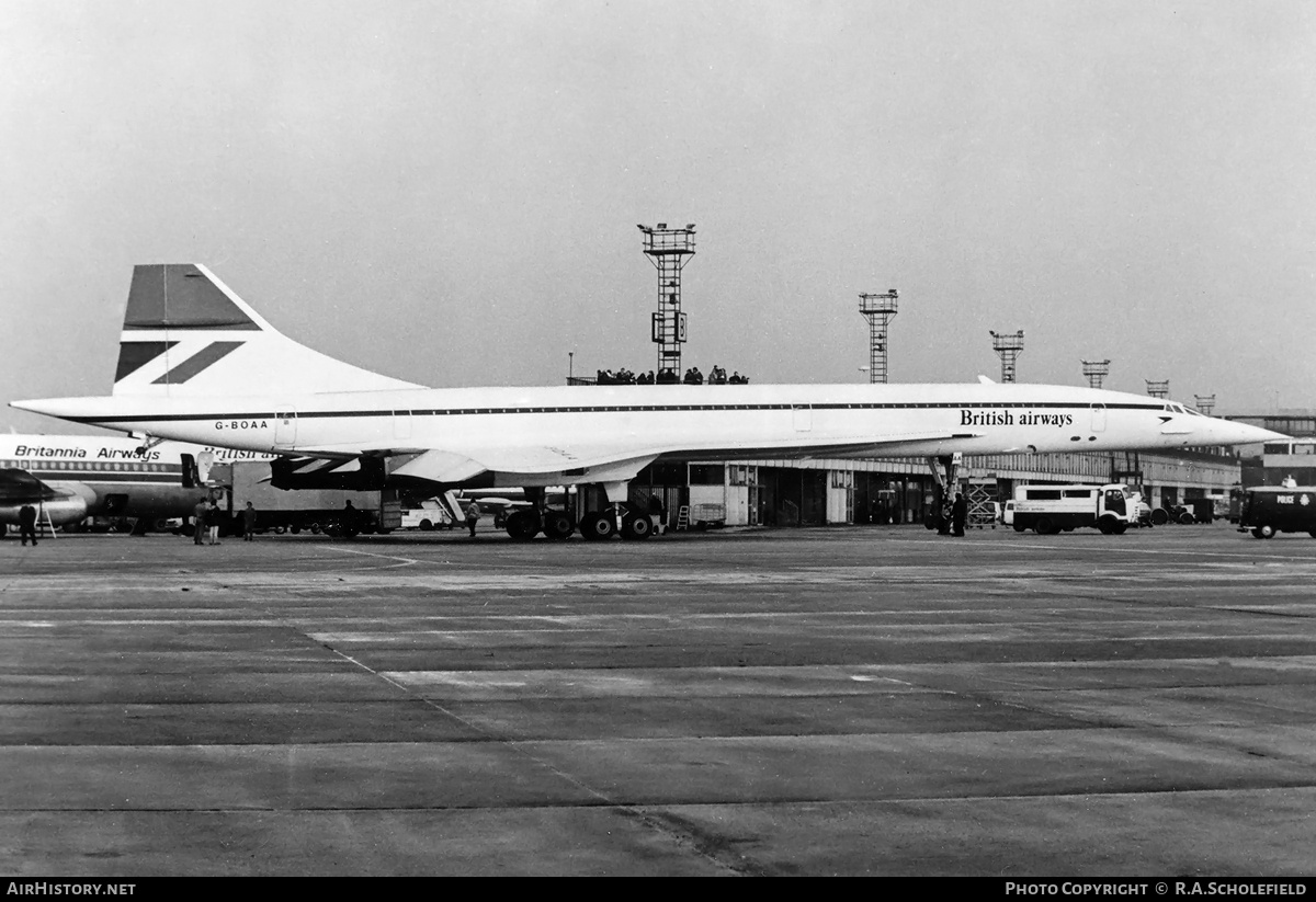 Aircraft Photo of G-BOAA | Aerospatiale-BAC Concorde 102 | British Airways | AirHistory.net #8573