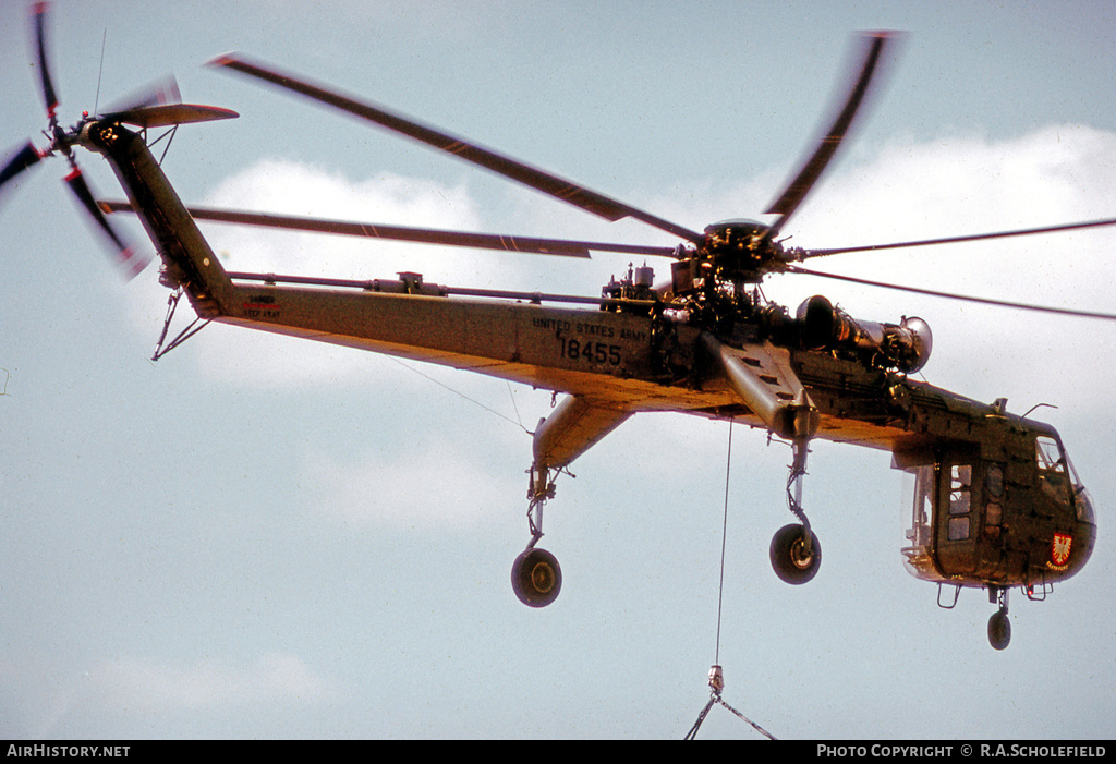 Aircraft Photo of 68-18455 | Sikorsky CH-54A Tarhe (S-64A) | USA - Army | AirHistory.net