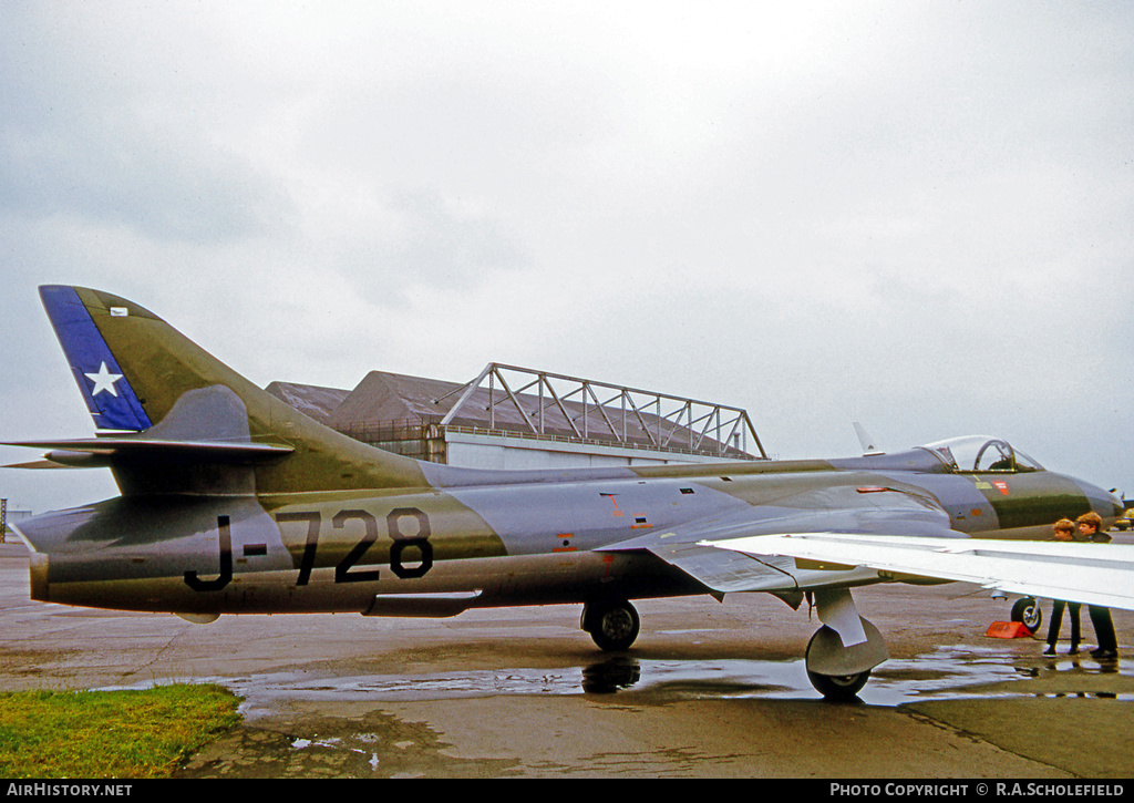 Aircraft Photo of J-728 | Hawker Hunter F71 | Chile - Air Force | AirHistory.net
