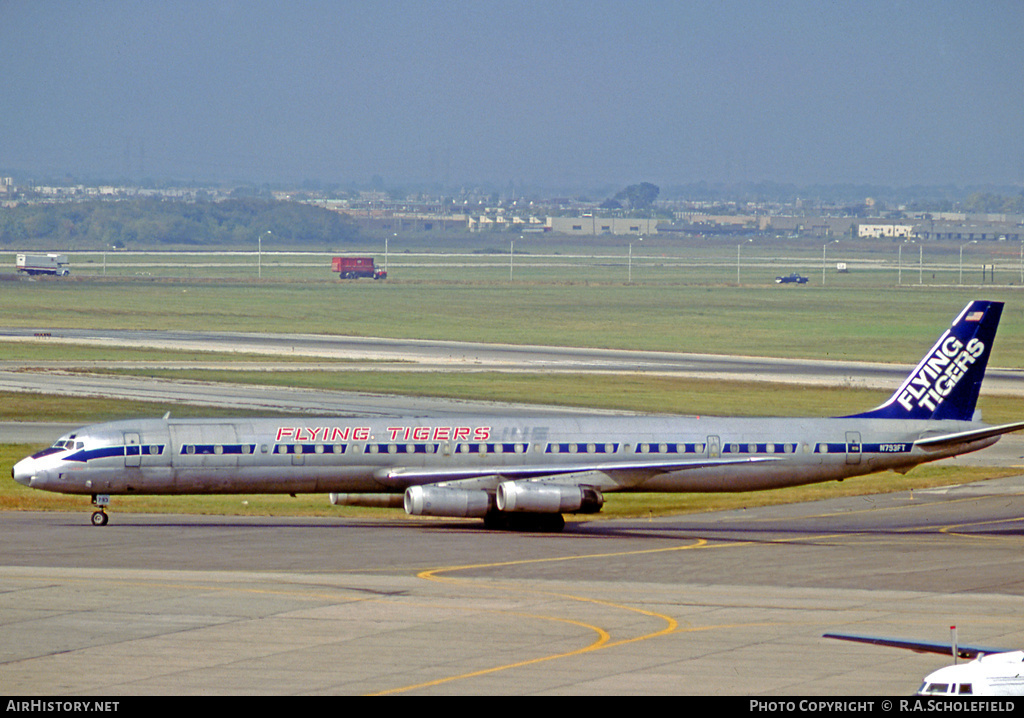 Aircraft Photo of N793FT | McDonnell Douglas DC-8-63CF | Flying Tigers | AirHistory.net #8666