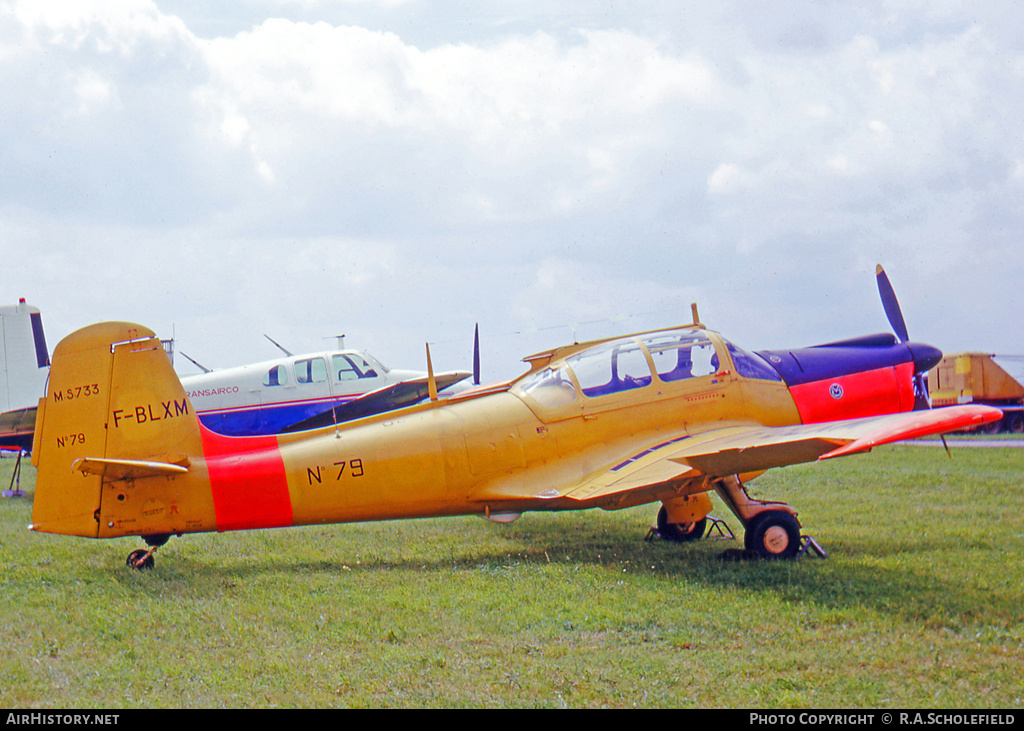 Aircraft Photo of F-BLXM | Morane-Saulnier MS-733 Alcyon | AirHistory.net