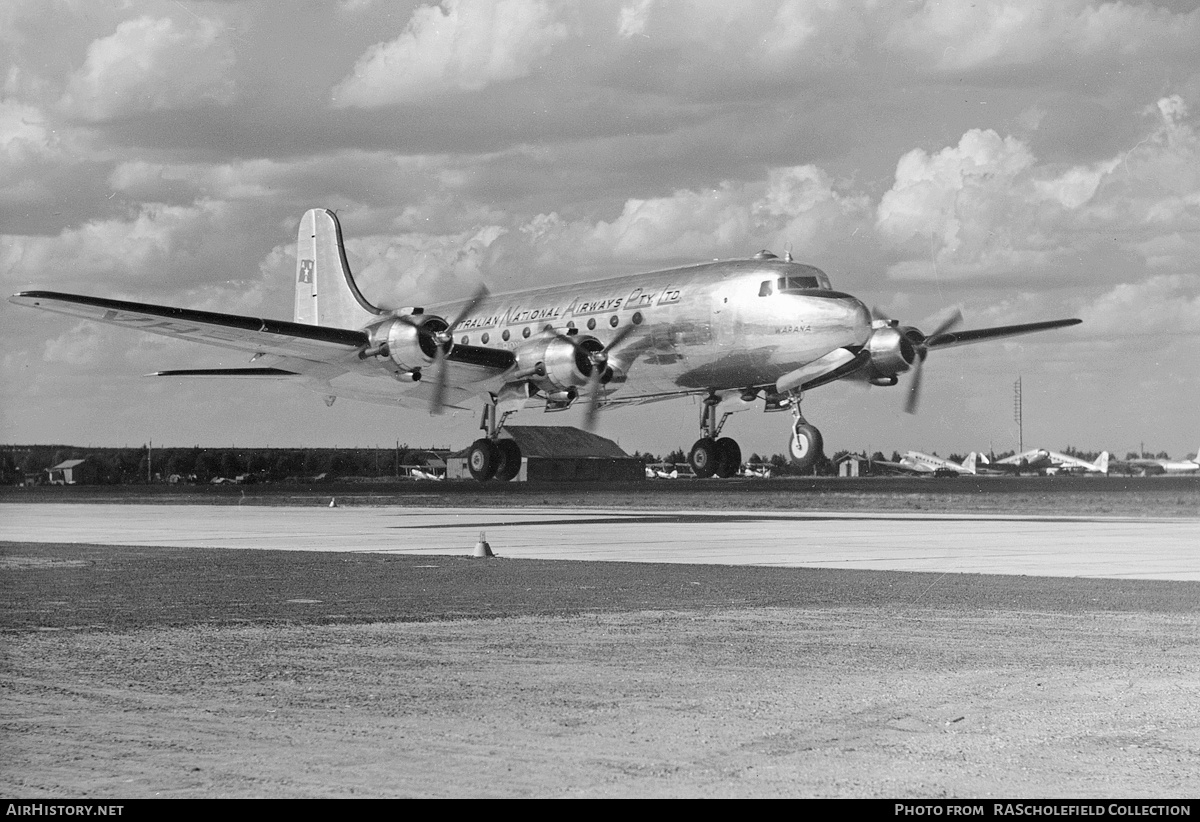 Aircraft Photo of VH-ANC | Douglas DC-4-1009 | Australian National Airways - ANA | AirHistory.net #8743