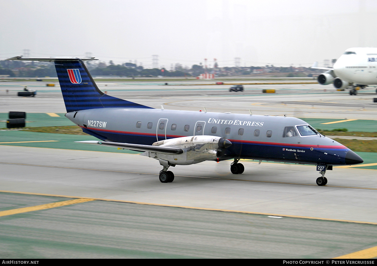 Aircraft Photo of N227SW | Embraer EMB-120ER Brasilia | United Express | AirHistory.net #8871