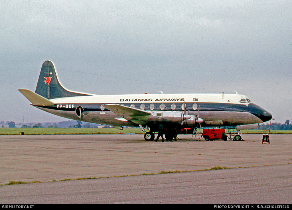 Aircraft Photo of VP-BCF | Vickers 707 Viscount | Bahamas Airways | AirHistory.net