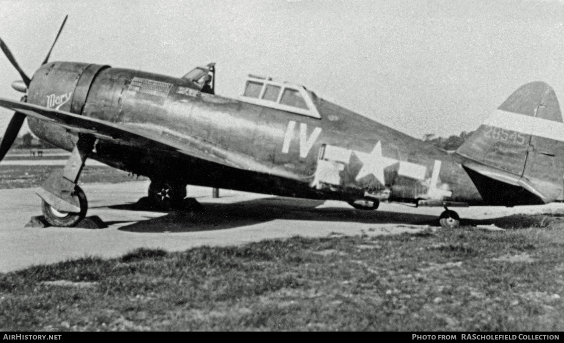 Aircraft Photo of 42-8545 / 28545 | Republic P-47D Thunderbolt | USA - Air Force | AirHistory.net