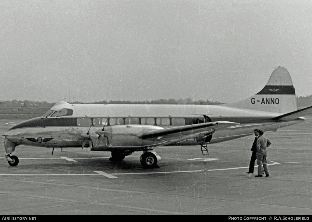 Aircraft Photo of G-ANNO | De Havilland D.H. 114 Heron 1B | Vickers-Armstrong | AirHistory.net