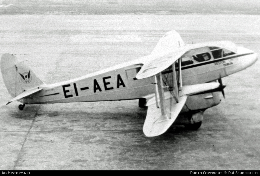 Aircraft Photo of EI-AEA | De Havilland D.H. 89A Dragon Rapide | Weston Ltd | AirHistory.net