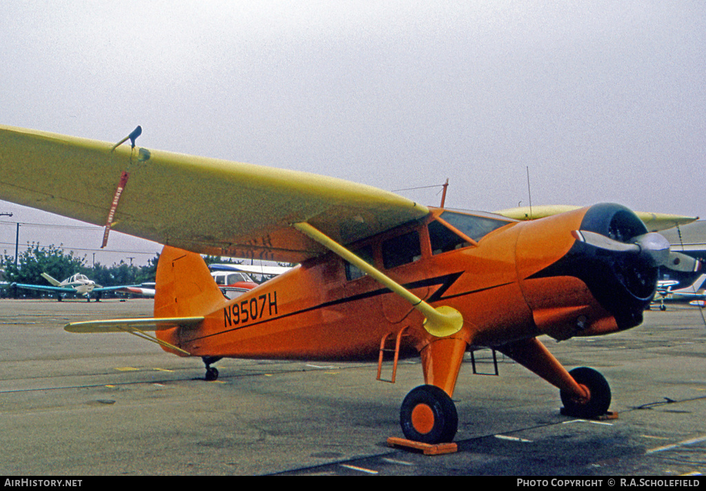 Aircraft Photo of N9507H | Stinson AT-19 Reliant (V-77) | AirHistory.net