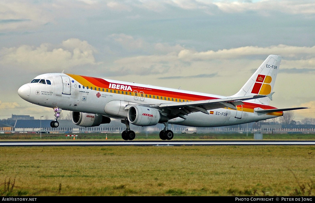 Aircraft Photo of EC-FGR | Airbus A320-211 | Iberia | AirHistory.net