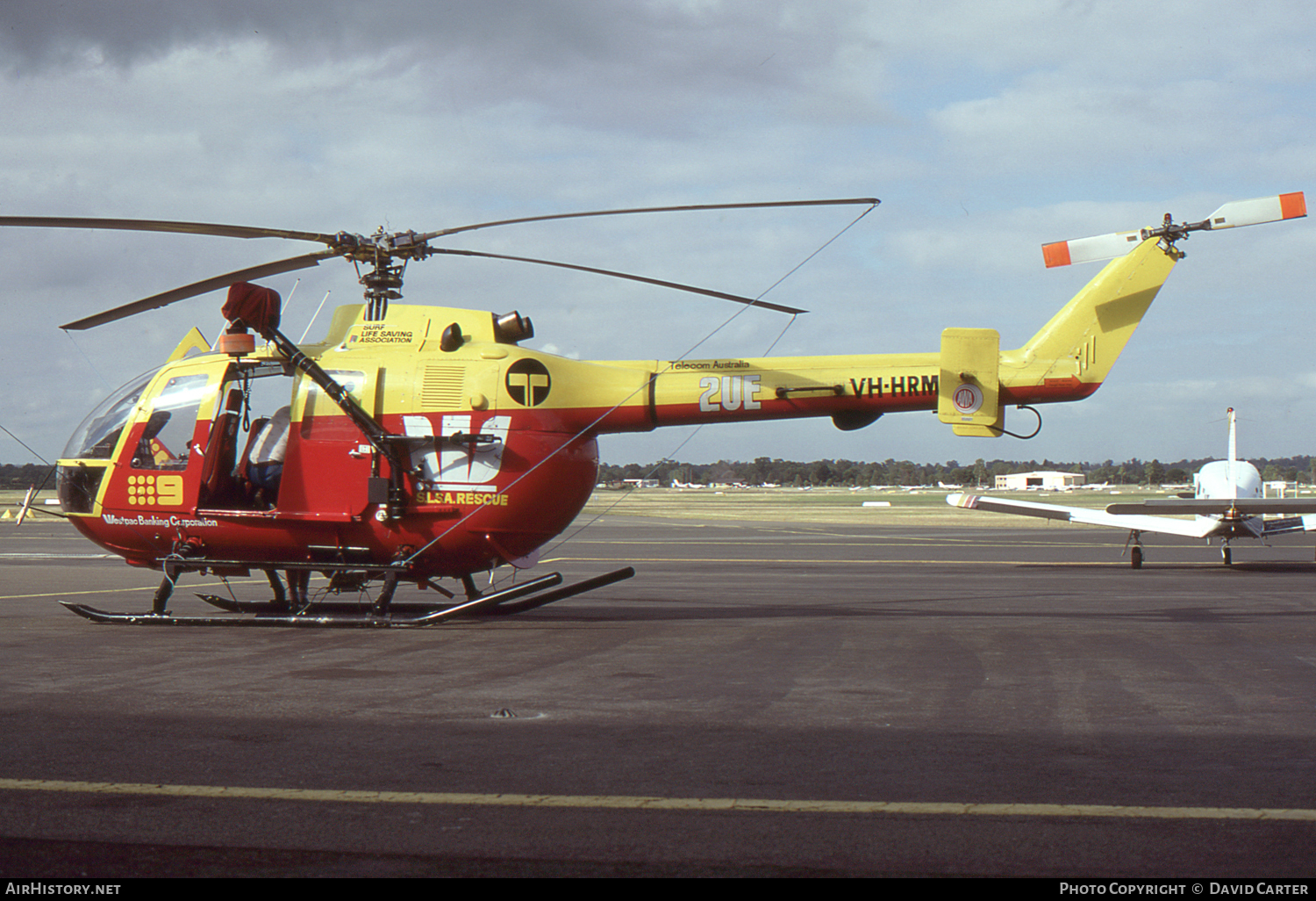 Aircraft Photo of VH-HRM | MBB BO-105D | Surf Life Saving Association | AirHistory.net