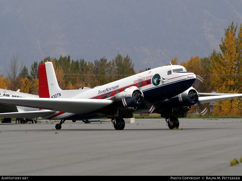 Aircraft Photo of N30TN | Douglas DC-3S Super DC-3 | TransNorthern Aviation | AirHistory.net