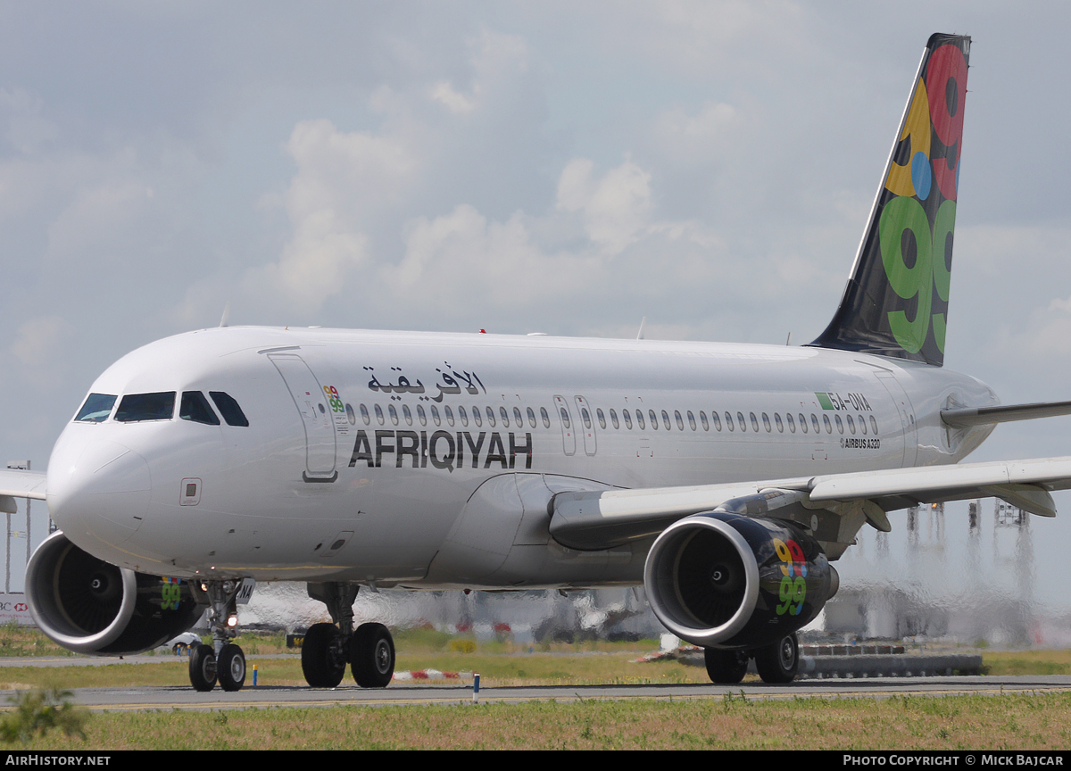 Aircraft Photo of 5A-ONA | Airbus A320-214 | Afriqiyah Airways | AirHistory.net