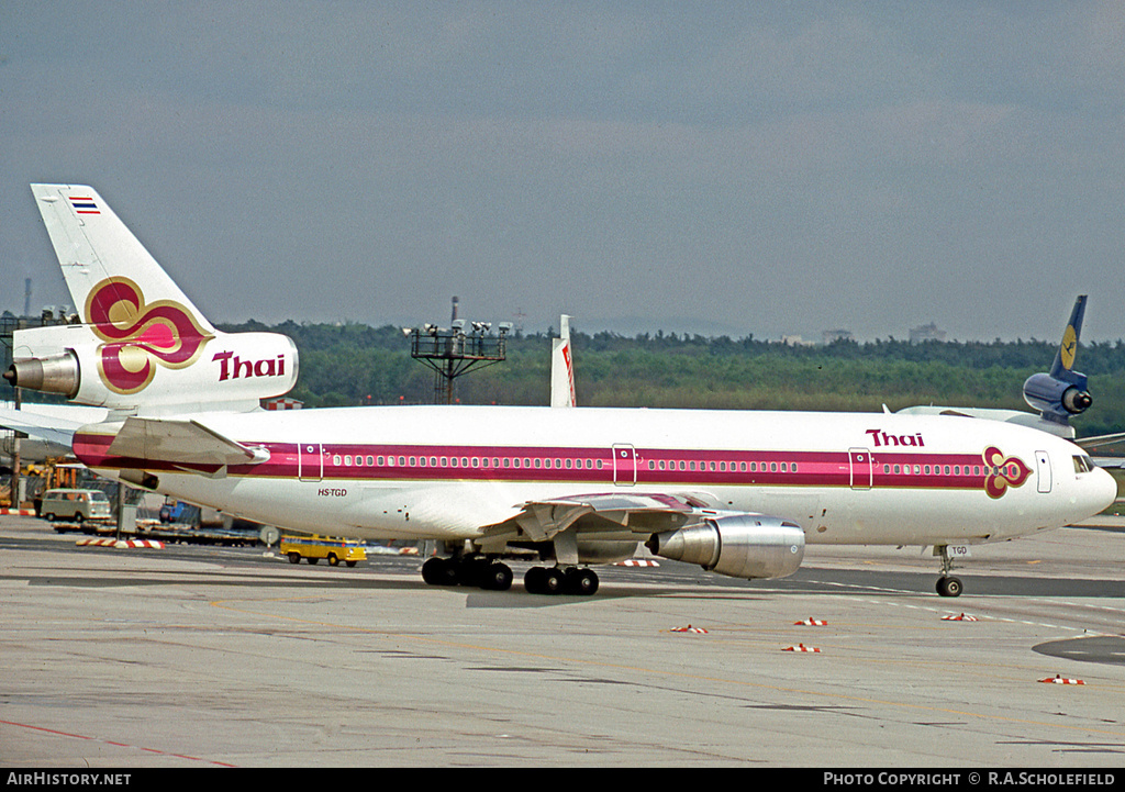 Aircraft Photo of HS-TGD | McDonnell Douglas DC-10-30 | Thai Airways International | AirHistory.net #25181