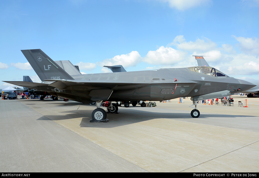 Aircraft Photo of 11-5035 / AF11-5035 | Lockheed Martin F-35A Lightning II | USA - Air Force | AirHistory.net #26335