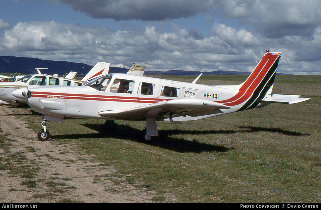 Aircraft Photo of VH-RQI | Piper PA-32R-300 Cherokee Lance | AirHistory.net #26338