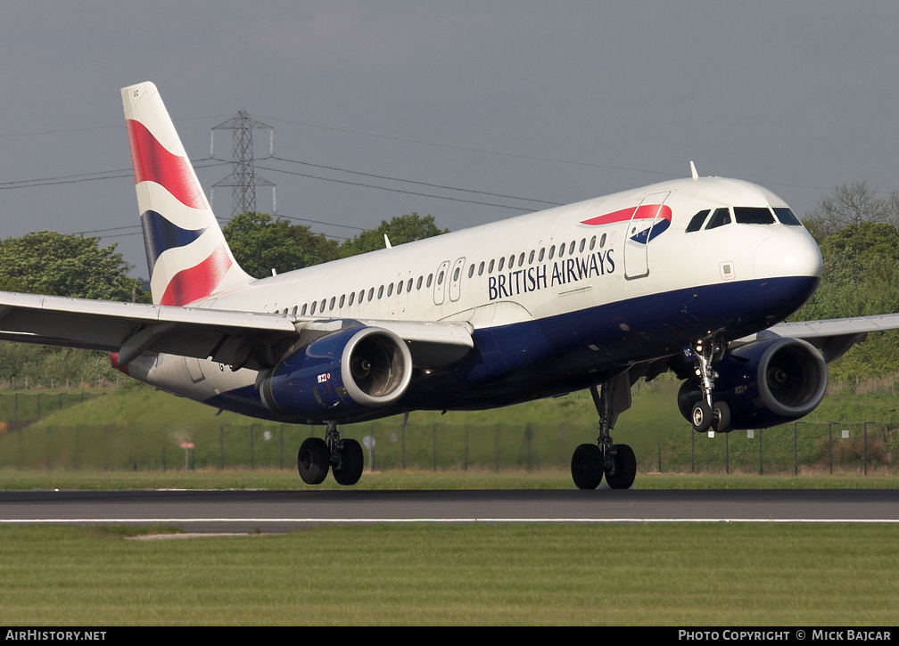 Aircraft Photo of G-EUUC | Airbus A320-232 | British Airways | AirHistory.net #26619