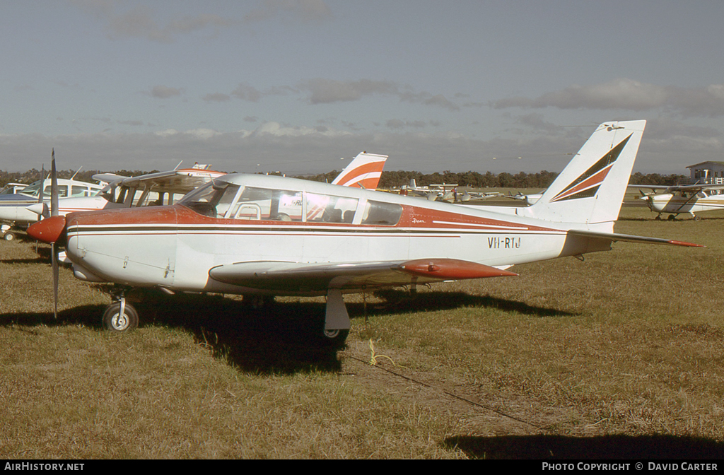 Aircraft Photo of VH-RTJ | Piper PA-24-260 Comanche B | AirHistory.net #26646