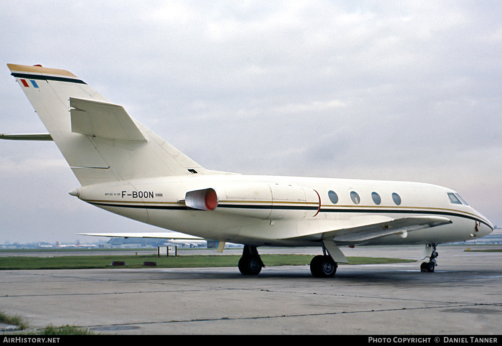 Aircraft Photo of F-BOON | Dassault Falcon 20GF | AirHistory.net #27010
