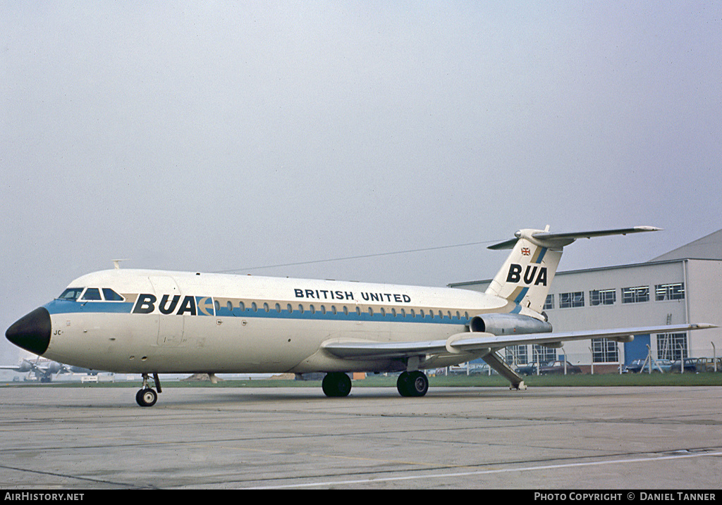 Aircraft Photo of G-ASJC | BAC 111-201AC One-Eleven | British United Airways - BUA | AirHistory.net