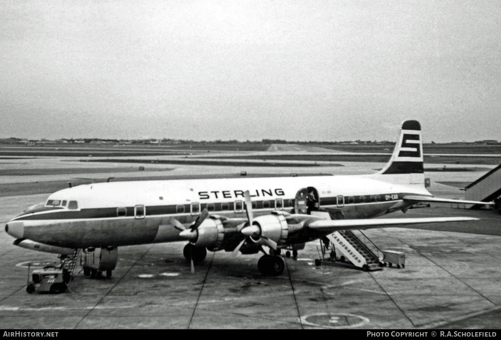 Aircraft Photo of OY-EAR | Douglas DC-6B | Sterling Airways | AirHistory.net #27637