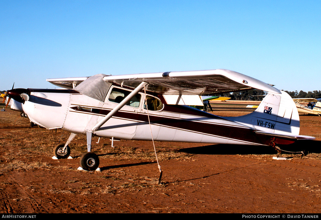 Aircraft Photo of VH-FSW | Cessna 170A | AirHistory.net #27996