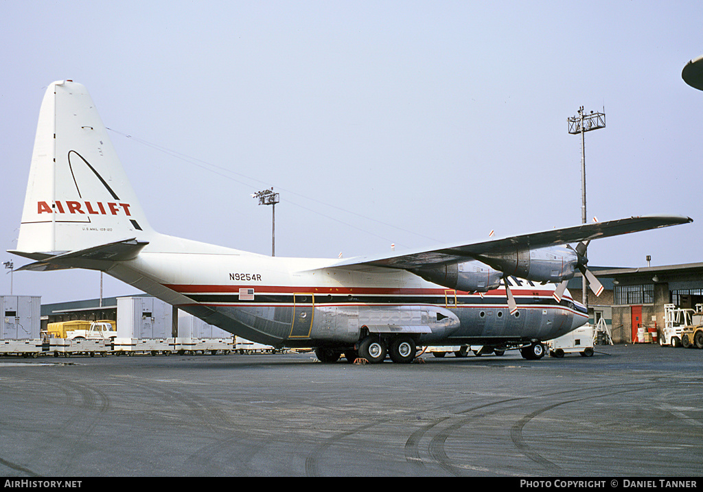 Aircraft Photo of N9254R | Lockheed L-100-20 Hercules | Airlift International | AirHistory.net #28946