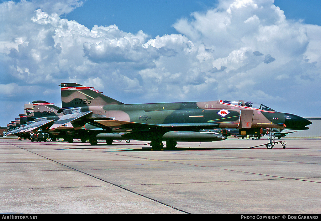 Aircraft Photo of 64-0725 / AF64-725 | McDonnell F-4C Phantom II | USA - Air Force | AirHistory.net #29085