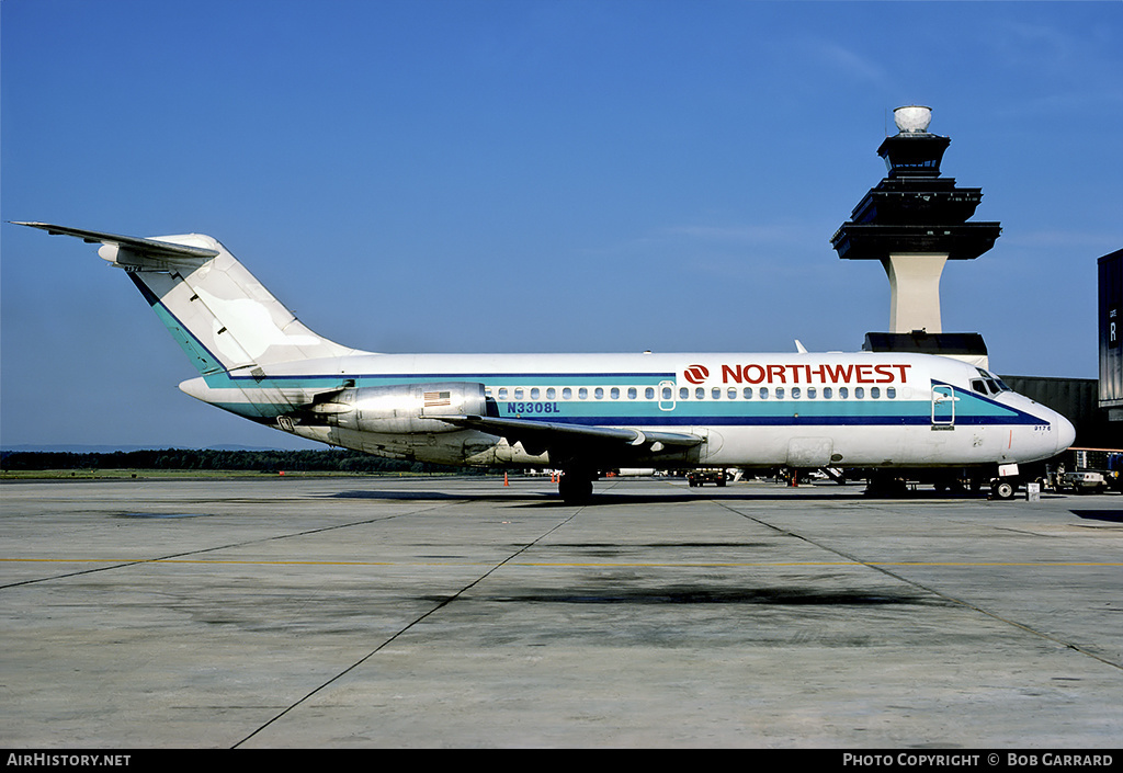 Aircraft Photo of N3308L | Douglas DC-9-14 | Northwest Airlines | AirHistory.net #29160